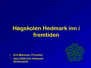 H gskolen Hedmark inn i fremtiden