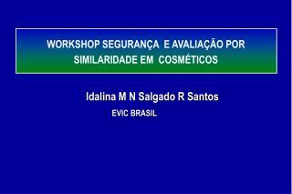 WORKSHOP SEGURAN A  E AVALIA  O POR SIMILARIDADE EM  COSM TICOS