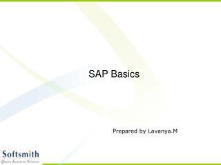 SAP Basics