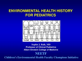 ENVIRONMENTAL HEALTH HISTORY  FOR PEDIATRICS