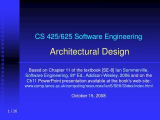 CS 425