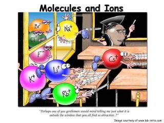 Molecules and Ions