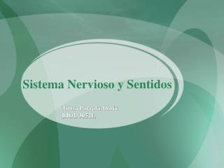 Sistema Nervioso y Sentidos