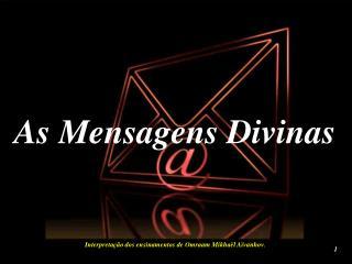 As Mensagens Divinas