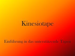 Kinesiotape