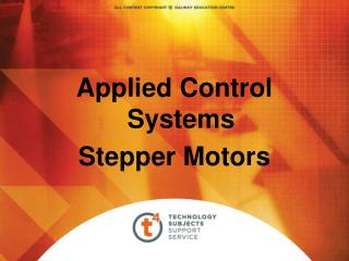 Applied Control Systems Stepper Motors