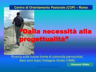 Villata - Ricera COP sulle Up Italiane