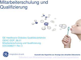 Mitarbeiterschulung und Qualifizierung