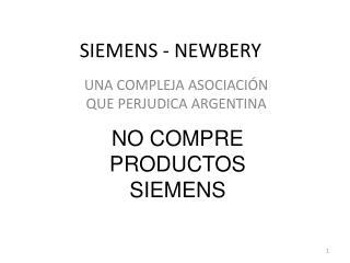 SIEMENS - NEWBERY