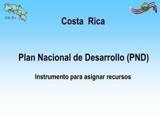 Plan Nacional de Desarrollo PND
