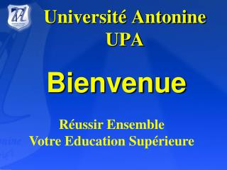 Universit  Antonine  UPA