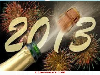 Celebrated 2013 New Year all Over the World in One's Own Sty