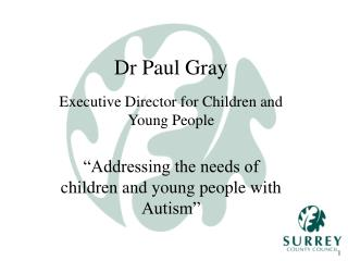 Dr Paul Gray