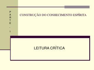 CONSTRU  O DO CONHECIMENTO ESP RITA