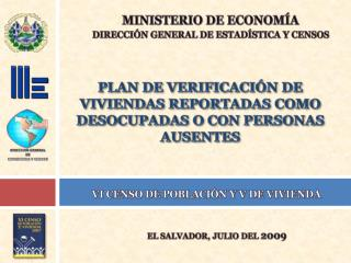 PLAN DE VERIFICACI N DE VIVIENDAS REPORTADAS COMO DESOCUPADAS O CON PERSONAS AUSENTES