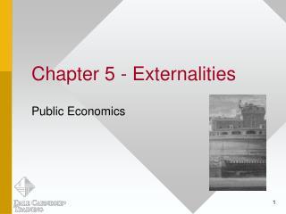 Chapter 5 - Externalities