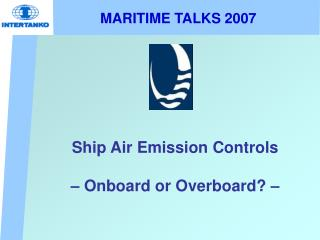 MARITIME TALKS 2007
