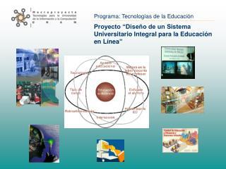 Proyecto  Dise o de un Sistema Universitario Integral para la Educaci n en L nea
