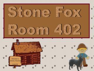 Stone Fox Room 402