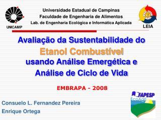Consuelo L. Fernandez Pereira  Enrique Ortega