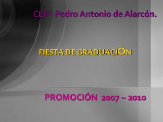 CEIP  Pedro Antonio de Alarc n.