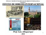 T TULO I.  NO  ES FUNDAMENTAIS DE DIREITO INTERNACIONAL UNIDADE 2.