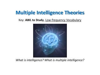Multiple Intelligence Theories