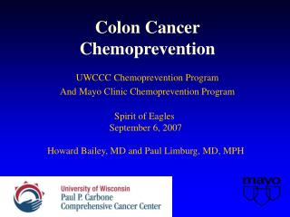Colon Cancer Chemoprevention