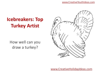 Icebreakers: Top Turkey Artist
