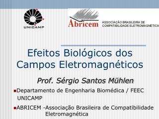 Efeitos Biol gicos dos Campos Eletromagn ticos