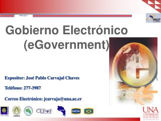 Gobierno Electr nico eGovernment