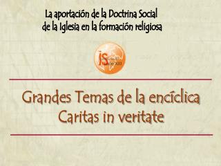 La aportaci n de la Doctrina Social  de la Iglesia en la formaci n religiosa