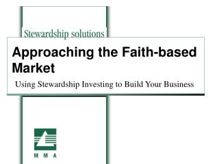 Approaching the Faith-based Market