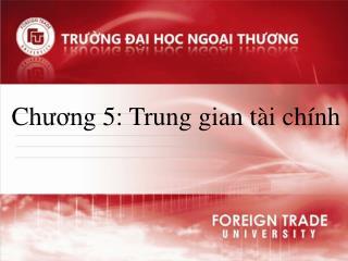 Chuong 5: Trung gian t i ch nh