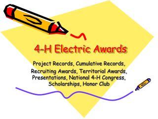 4-H Electric Awards