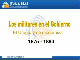 Los militares en el Gobierno