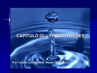 CAP TULO 02   PRECIPITA  ES