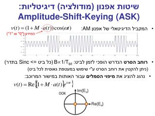 : Amplitude-Shift-Keying ASK