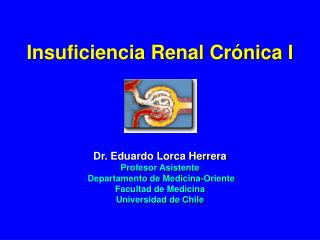 Insuficiencia Renal Cr nica I