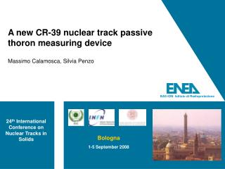 A new CR-39 nuclear track passive thoron measuring device