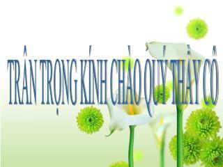 TR N TRNG K NH CH O QU  THY C