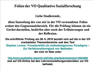 08. 03. 2010 15. 03. 2010 Eigenst ndige Bearbeitung des Artikels       von Stephan Lorenz - keine VO 22. 03. 2010 19. 04