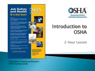 Introduction to OSHA