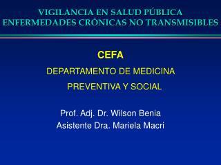 VIGILANCIA EN SALUD P BLICA ENFERMEDADES CR NICAS NO TRANSMISIBLES