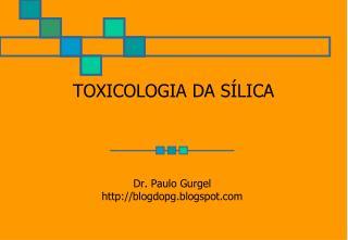 TOXICOLOGIA DA S LICA