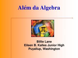 Al m da Algebra