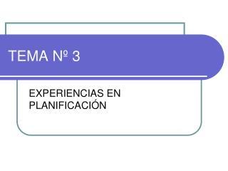 TEMA N  3