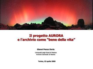 Torino, 22 aprile 2009