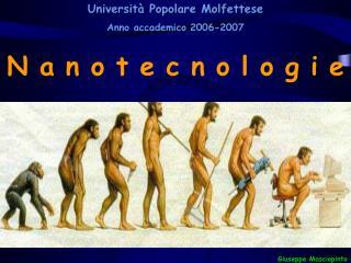 Universit  Popolare Molfettese  Anno accademico 2006-2007