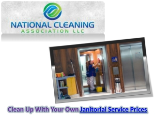 Janitorial Service Prices